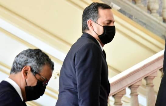Abinader se reúne con presidente de la Suprema Corte y varios ministros