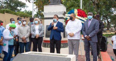 Alcaldía de SDN rinde homenaje a Juan Pablo Duarte