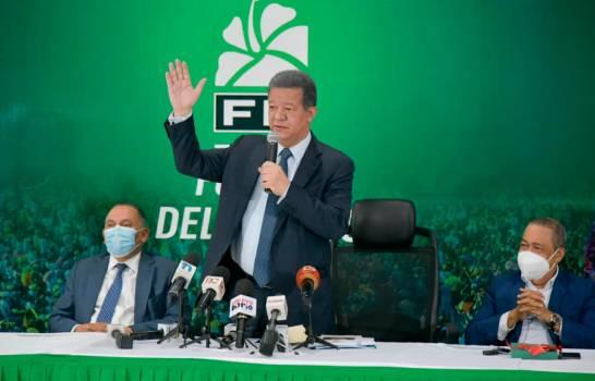 Leonel Fernández califica de injusta e irregular resolución de la JCE que dejó a FP como partido minoritario