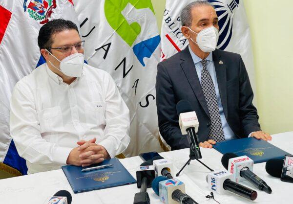 Convenio del MESCYT y la Dirección General de Aduanas beneficiará a estudiantes, universidades e investigaciones