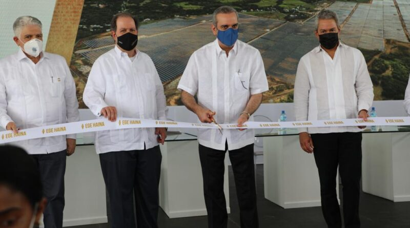 Presidente Abinader participa en inauguración Parque Solar Girasol con inversión de USD 100 millones