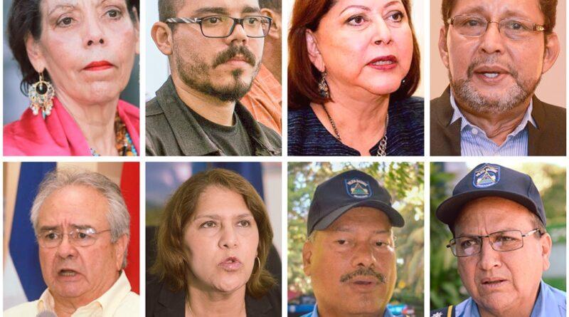 Suiza sanciona a esposa e hijo del presidente de Nicaragua y otros seis funcionarios del régimen por represión